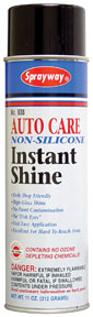 Sprayway Auto Care Non-Silicone Instant Shine SPR-938