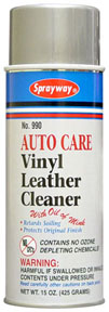 Sprayway Vinyl Leather Cleaner SPR-990