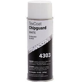 Transtar 16oz Aerosol Tex Coat Chip Guard-White TRE-4303