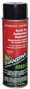 Transtar 24oz Aerosol Quick Dry Rubberized Undercoating TRE-4363-F