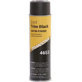 Transtar 2 in 1 Trim Black Satin TRE-4653