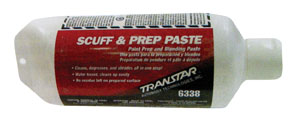 Transtar Scuff & Prep Paste, 25 oz Tube TRE-6338