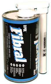 U-POL Products FIBRAL Sandable Glass Fibre Repair Paste, 1.3L UPL-UP0717