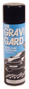 U-POL Products Aerosol Black Gravi-Gard Stone Chip UPL-UP0731