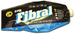U-POL Products FIBRAL Sandable Glass Fibre Repair Paste, 1L Bag UPL-UP0754