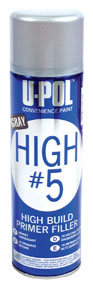 U-POL Products High #5 - 1K High Build Primer, Gray UPL-UP0791