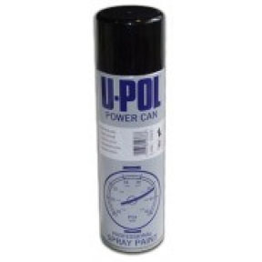 U-POL Products 500mL Aerosol Satin Black UPL-UP0801