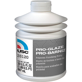 U.S. Chemical and Plastics PRO-GLAZE™ Maximum Performance Polyester Finishing Putty USC-26120