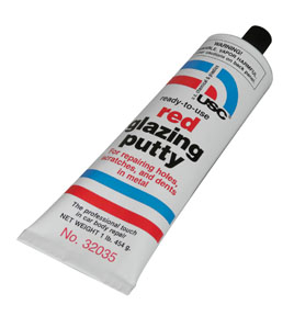 U.S. Chemical & Plastics Red Glazing Putty 1 lb. Tube USC-32035