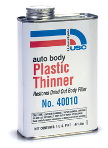 "U.S. Chemical & Plastics Auto Body Plastic Thinner, ""Honey"" USC-40010"