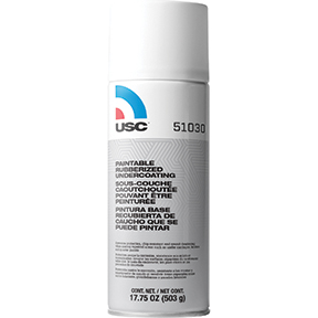 U.S. Chemical & Plastics Rubberized Paintable Undercoating, 17.75 oz. Aerosol USC-51030