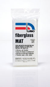 U.S. Chemical & Plastics Fiberglass Mat 8 sq. ft. USC-58075