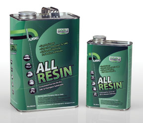 U.S. Chemical and Plastics ALL RESIN™ Polyester-Hybrid Repair Resin, 1-Quart USC-58215