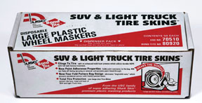 "U.S. Chemical & Plastics 45"" x 40"" ""Large"" SUV & Light Truck Tire Skins USC-70510"