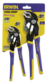 Vise Grip 2pc GrooveLock Pliers Set VSG-2078709
