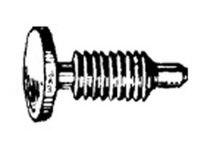 "W & E Fasteners Fastening, Hole Size:1/4"", Head Diameter:1/2"",  Overall Height:13/16""  Hole Size:1/4""- WEF-2108"