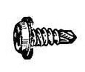 W & E Fasteners Phillips Oval Washer Head self Drilling Screw, Package Of 100 - WEF-2222