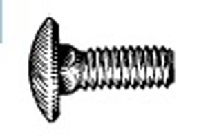 "W & E Fasteners Bumper Bolts, 1/4-20 X 3/4"", stainless Steel Capped, Package Of 25 - WEF-2231"