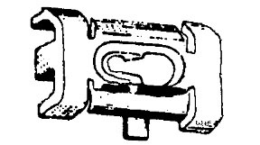 W & E Fasteners Quarter Belt Reveal Moulding Clip Gm- '80 & Up, Package Of 25 - WEF-2232