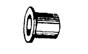 W & E Fasteners Door Hinge Bushing Stainless Steel GM Trucks&Vans, Package Of 15 - WEF-2284