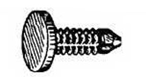 W & E Fasteners Weatherstrip Retainer Panel Retainer- GM/Ford/AMC, Package Of 50 - WEF-2414