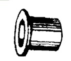 W & E Fasteners Door Hinge Bushing, Bronze Chrysler Vans, Package Of 15 - WEF-2457