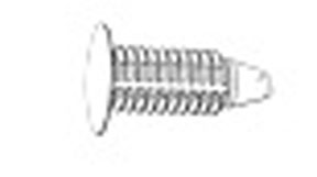 W & E Fasteners Weatherstrip Retainer GM & Chrysler Neon, Package Of 50 - WEF-2848