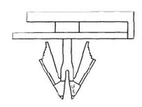 W & E Fasteners Plastic Rocker Panel Moulding Clip-Natural GM-'99 & Up, Package Of 15 - WEF-3044