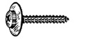 W & E Fasteners 4.8-1.59 x 35mm Phillips Pozidrive Screw Ab with 12mm - WEF-3051