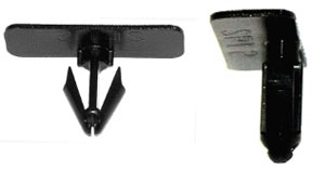 W & E Fasteners Plastic Rocker Panel Moulding Retainer Chevy-2000 & Up, Package Of 10 - WEF-3129
