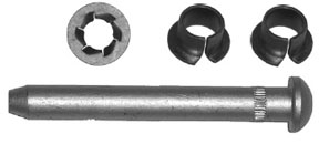 W & E Fasteners Door Pin & Bushing Kit - WEF-3164