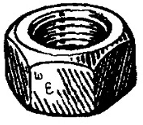 W & E Fasteners 12mm Metric Nuts - WEF-5012