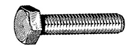 W & E Fasteners Metric Hex Head Cap Screw, 6 x 40mm - WEF-5606