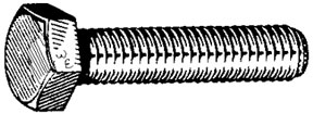 W & E Fasteners Metric Cap Screws 8X35mm - WEF-5805