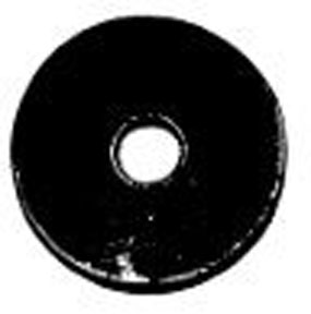 W & E Fasteners Metric Flat Washers, Zinc Platted, 6mm - WEF-5949