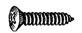 "W & E Fasteners Phillips Oval Head Screw, #8x1"", Package of 100 - WEF-636"
