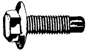 W & E Fasteners .330 Stud Size, For Plastic Studs Use For Headlight And Taillight Extensions, Package of 100 - WEF-942