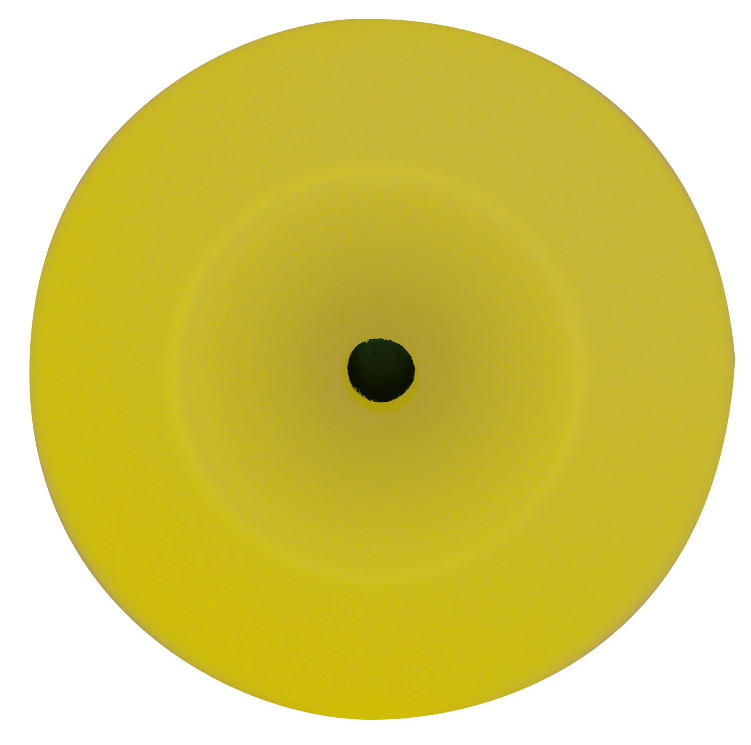 "Wizard 8"" x 1¾"" Foam Cut Yellow Pad WIZ-11204"