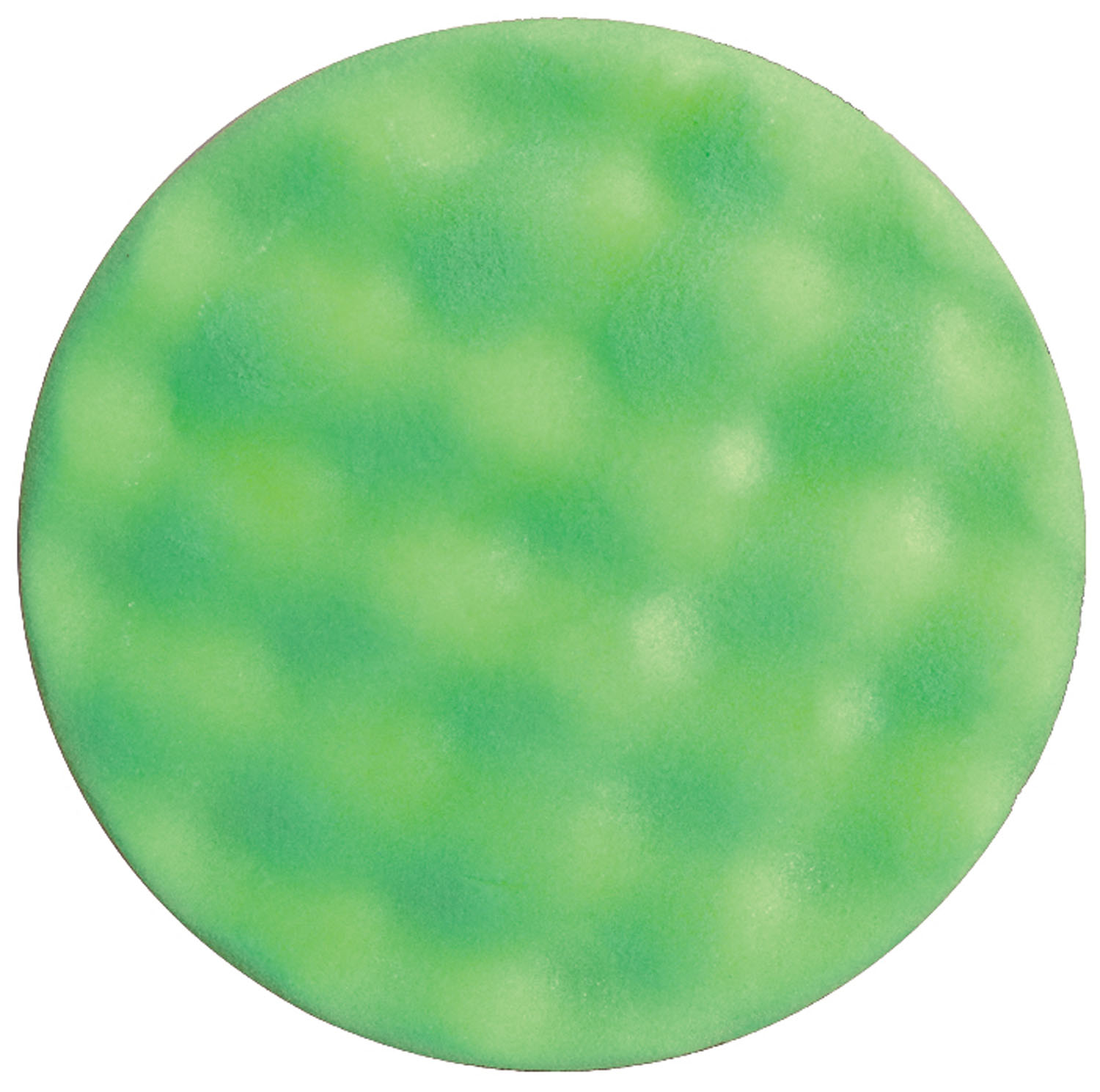 "Wizard 7.5"" x 1.5"" Polyester Foam Light Cut/Polishing Green WIZ-11305"