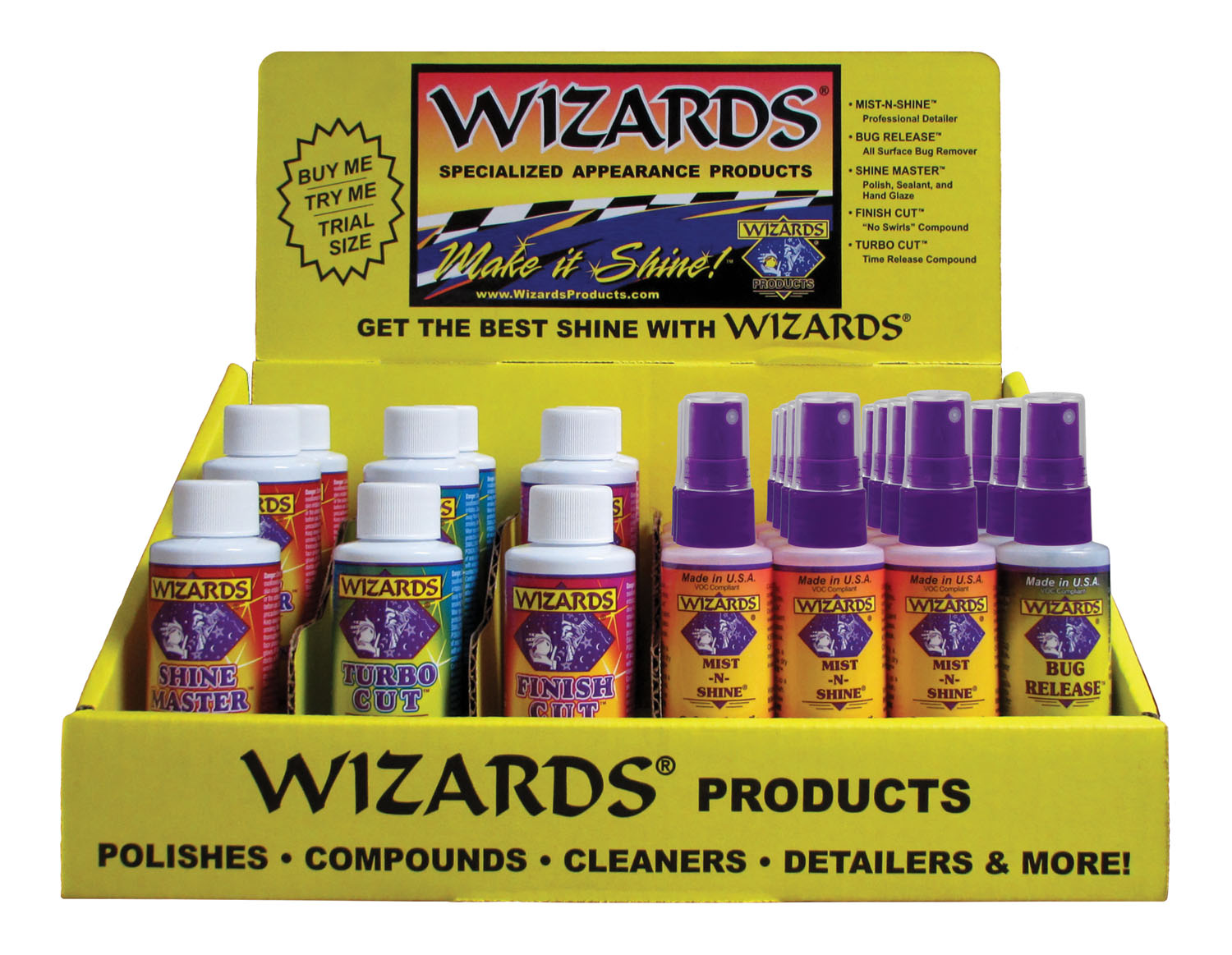 Wizard Retail Counter Display WIZ-11690