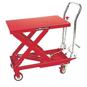 American Forge & Foundry 1100 LB HYDRAULIC TABLE CART