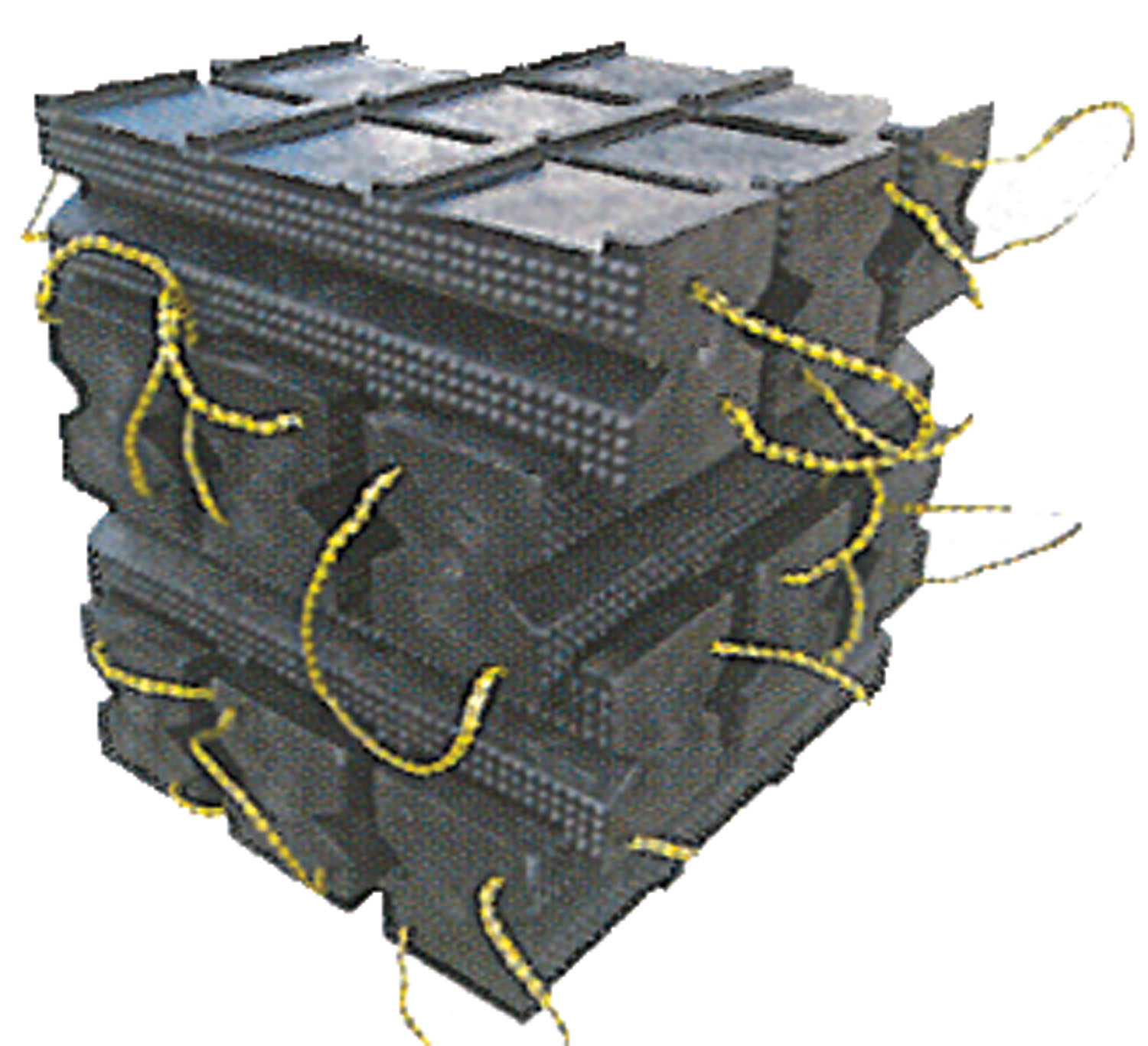 12PC SUPER STACKER CRIBBING SE