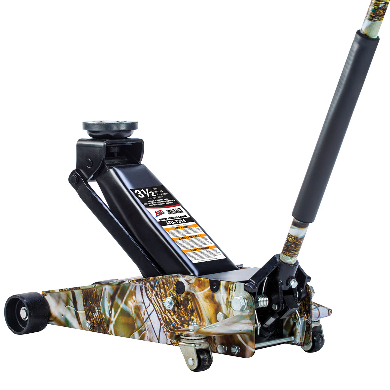 ATD Tools 3-1/2 Ton Swift Lift™ Camo Service Jack