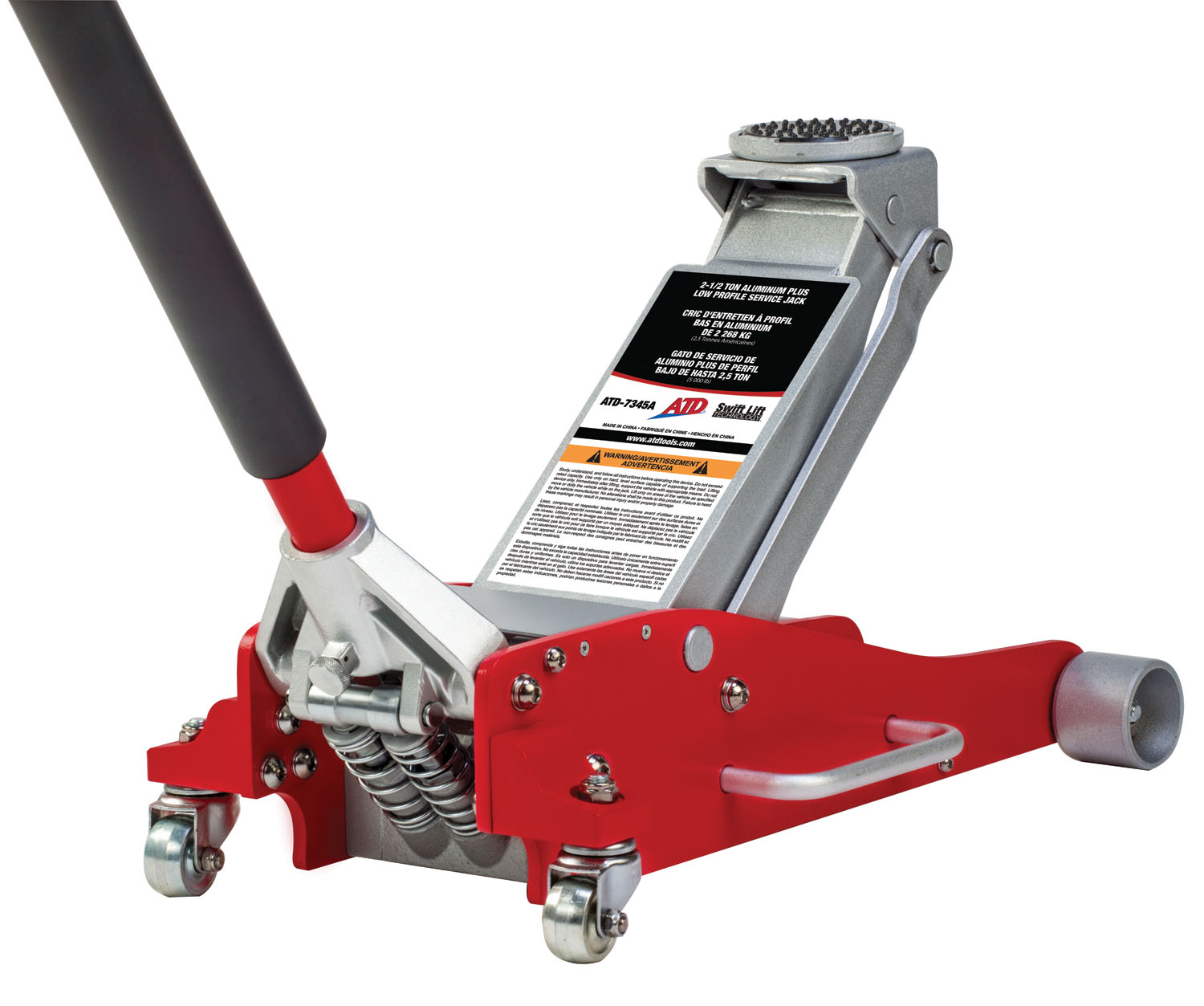 ATD Tools 2-1/2 Ton Aluminum Plus Low Profile Service Jack