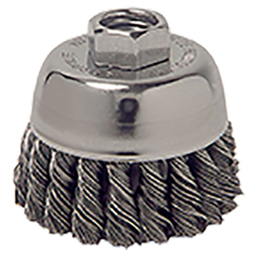 """ATD Tools 2-3/4"""" Knot Cup Brush"""
