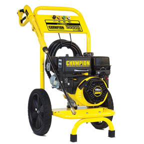 CHAMPION 3000PSI Pressure Washer, Dolly Style
