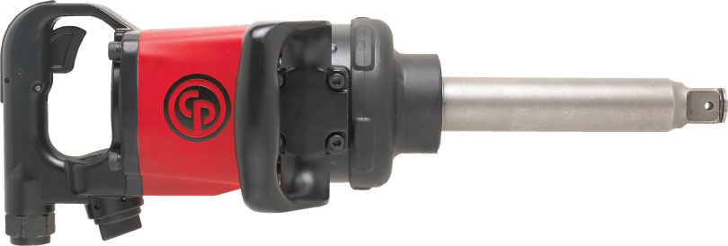 """Chicago Pneumatic 1"""" Straight Impact Wrench with 6"""" Anvil"""