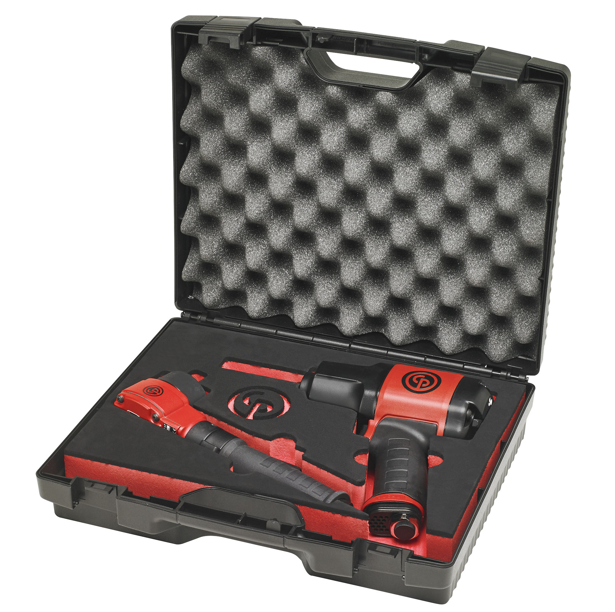 """Chicago Pneumatic 1/2"""" Angle Impact Wrench with 1/2"""" Composite Impact Wrench"""