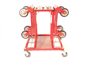 Djs Fabrications Mobile Dolly Station for Two Dollies