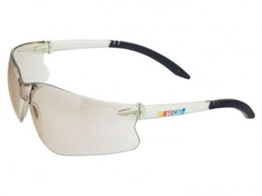 Encon Safety Products Inc NASCAR GT, Clear Frame, Indoor-Outdoor Lens, ScratchCoat